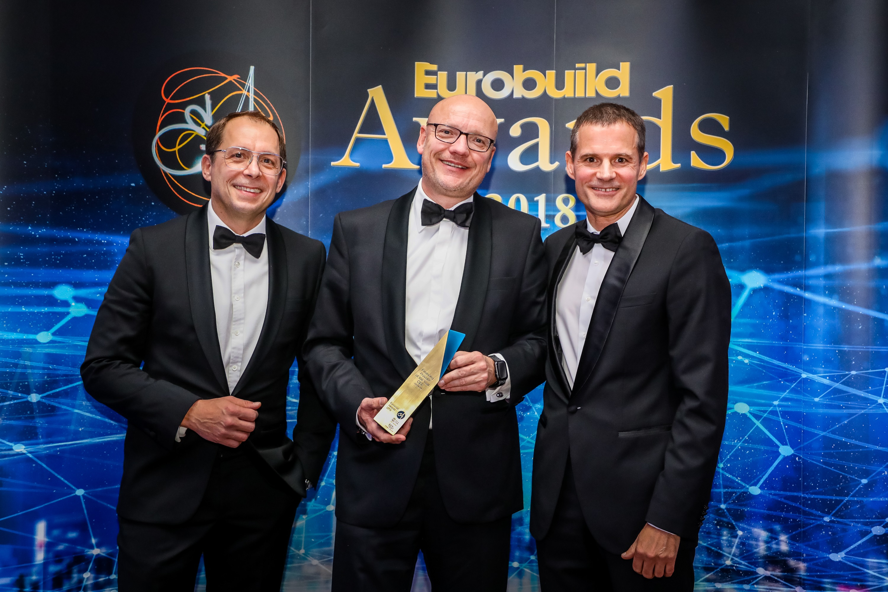 Eurobuild Award - Financing Provider of the Year for CEE