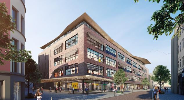 Landmarken startet Umbau von Kaufhaus